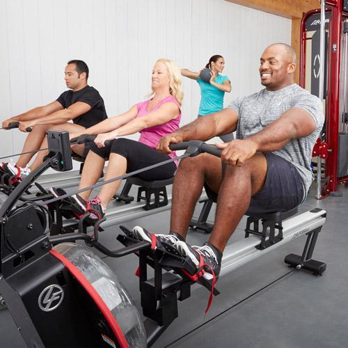 GROUP EXERCISE ROW